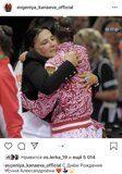 Евгения Канаева принимает поздравления от Ирины Винер